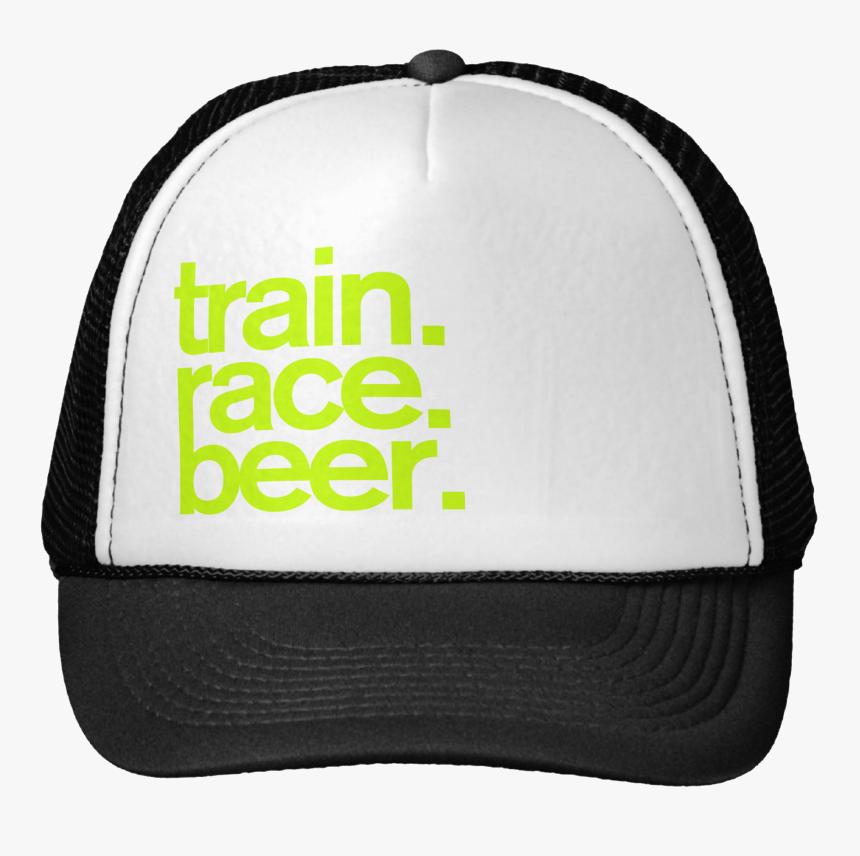 Train - Race - Beer - Trucker Hat - Hat, HD Png Download, Free Download