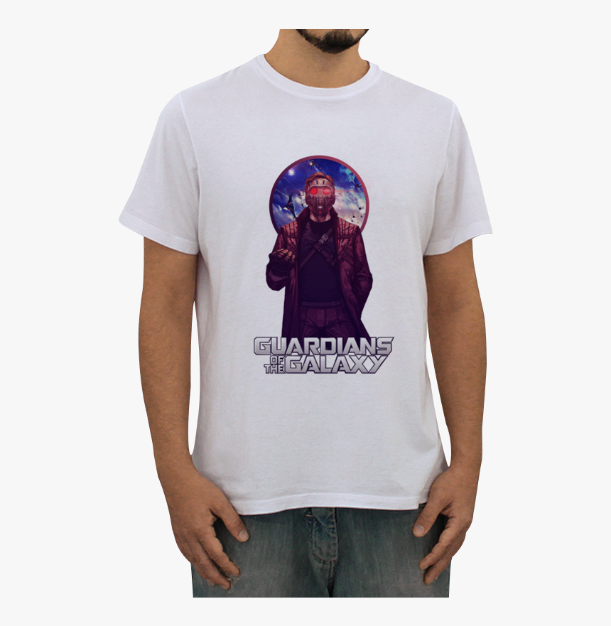 Camiseta Peter Quill Guardians Of The Galaxy De Felipe - Star Lord, HD Png Download, Free Download