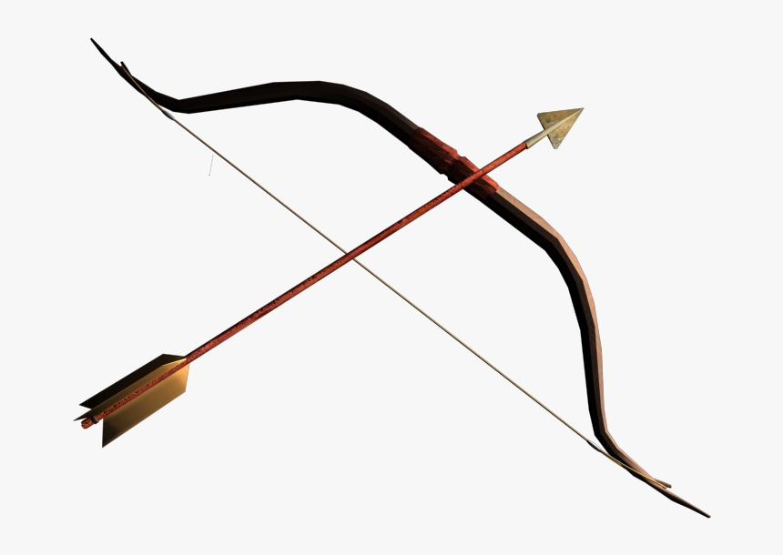 Archery - Mongol Bow And Arrow Png, Transparent Png, Free Download