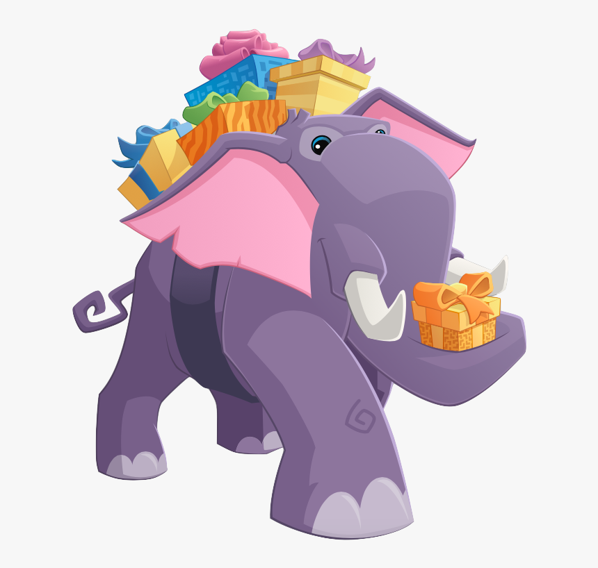 Present Elephant - Indian Elephant, HD Png Download, Free Download