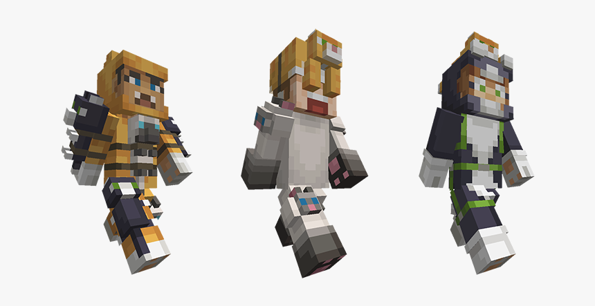 Minecraft Mini Game Heroes Skin Pack, HD Png Download, Free Download