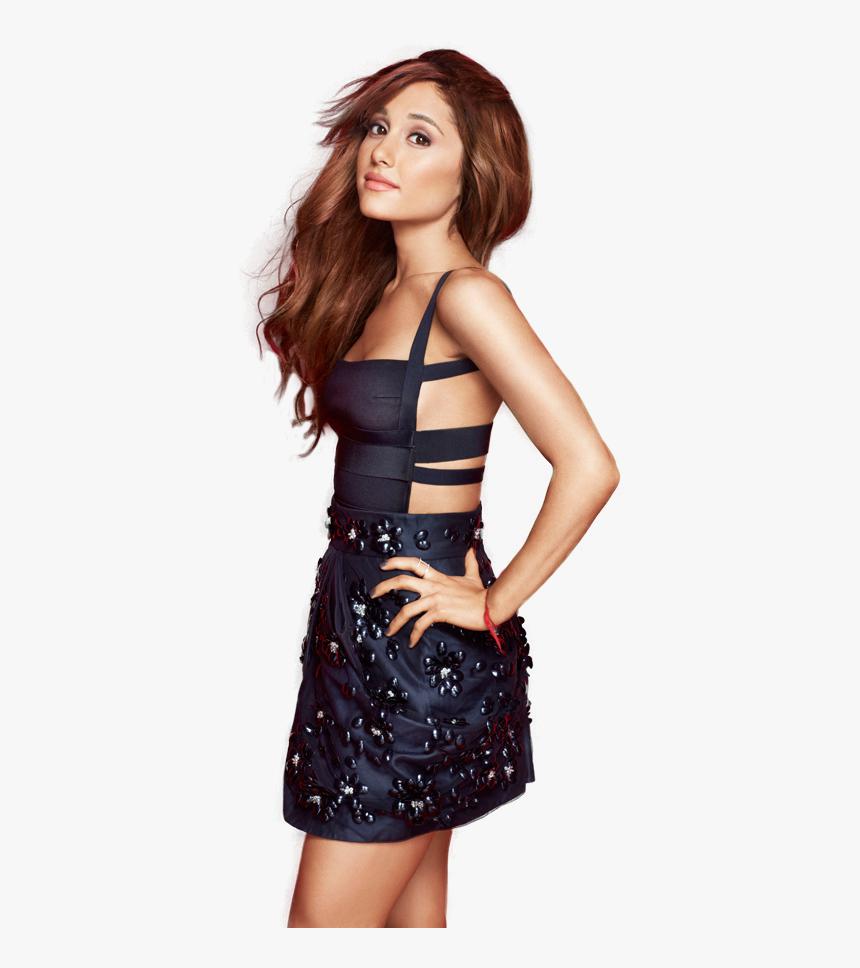 Ariana Grande Looking Png Image - Emma Watson And Ariana Grande, Transparent Png, Free Download