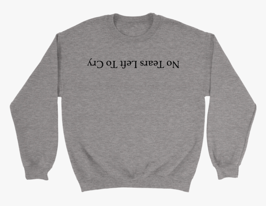 No Tears Left To Cry Png - Ariana Grande No Tears Left To Cry Shirt, Transparent Png, Free Download