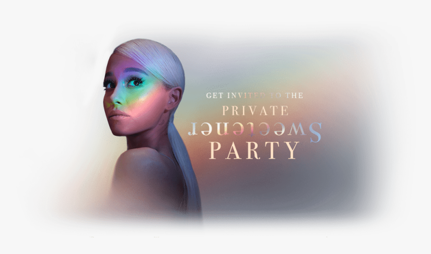 Ariana Grande Transparent Sweetener, HD Png Download, Free Download