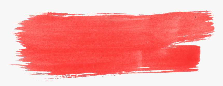Tumblr Watercolor Png -red Watercolor Brush Stroke - Transparent Brush Stroke Png, Png Download, Free Download
