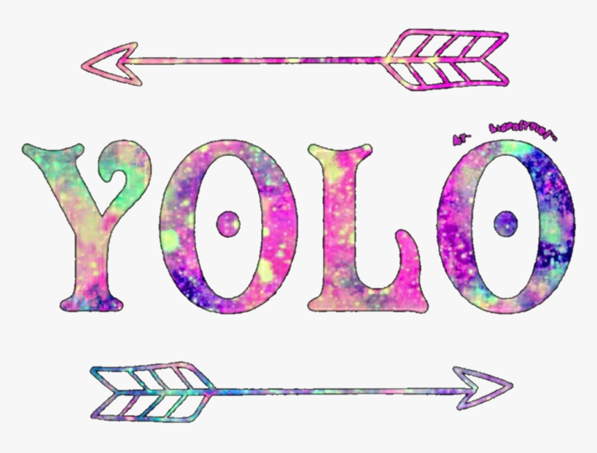 Yolo Tumblr Sticker Mariana Santos Tumblr Collage Stickers - Yolo Stickers, HD Png Download, Free Download
