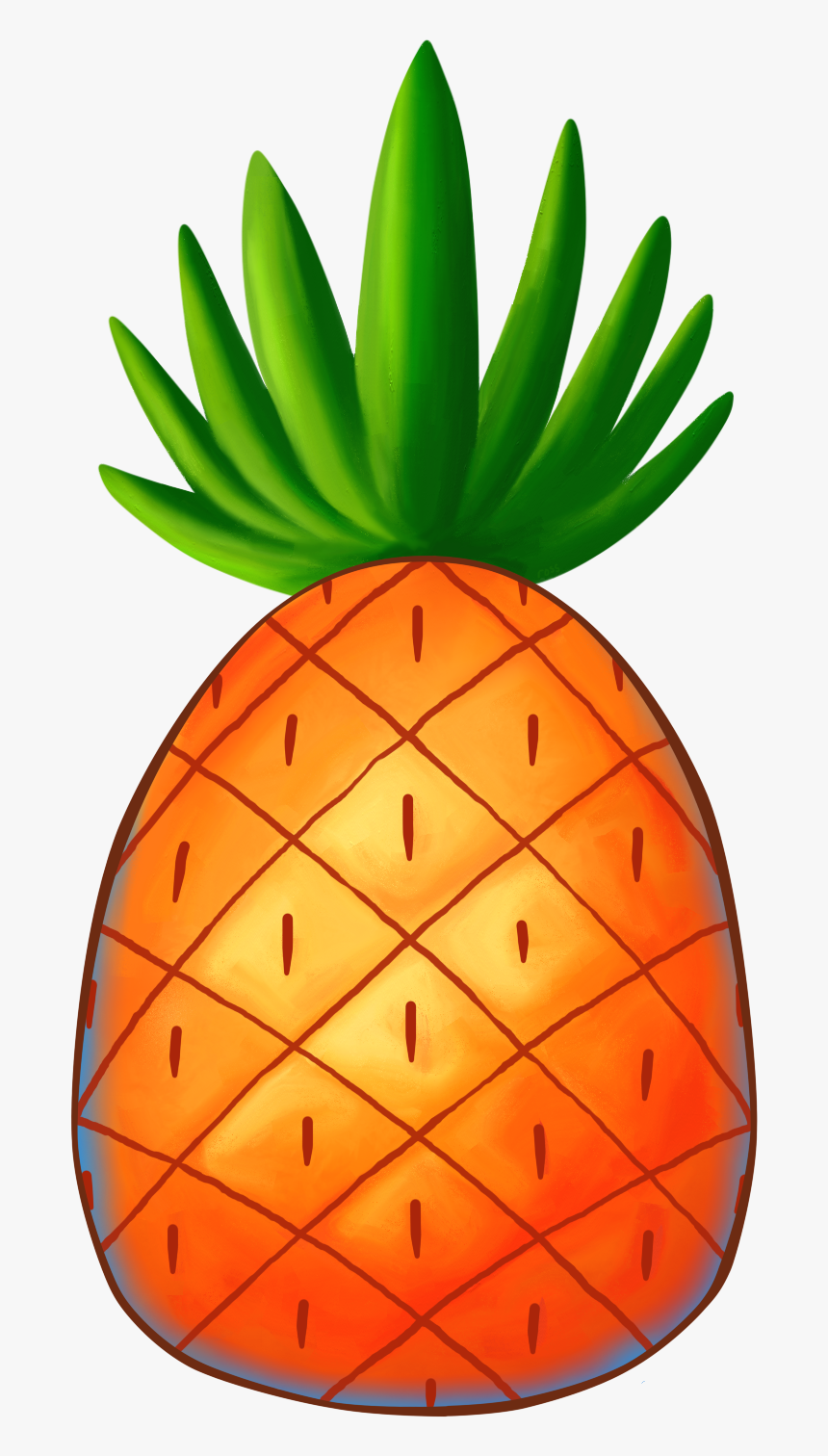 Tumblr Collage Stickers Png - Spongebob Pineapple Png, Transparent Png, Free Download