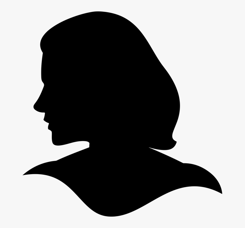 Female, Girl, Head, Silhouette, Woman - Woman Head Silhouette Png, Transparent Png, Free Download