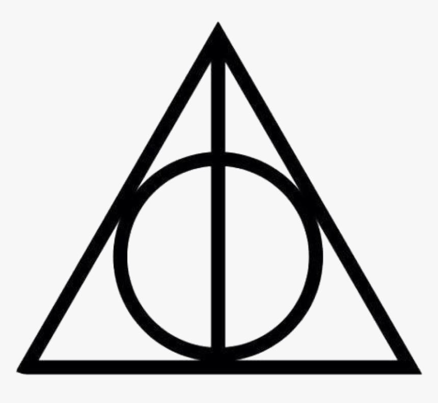 Harry Potter✨ - Reliquias De La Muerte Simbolo, HD Png Download, Free Download