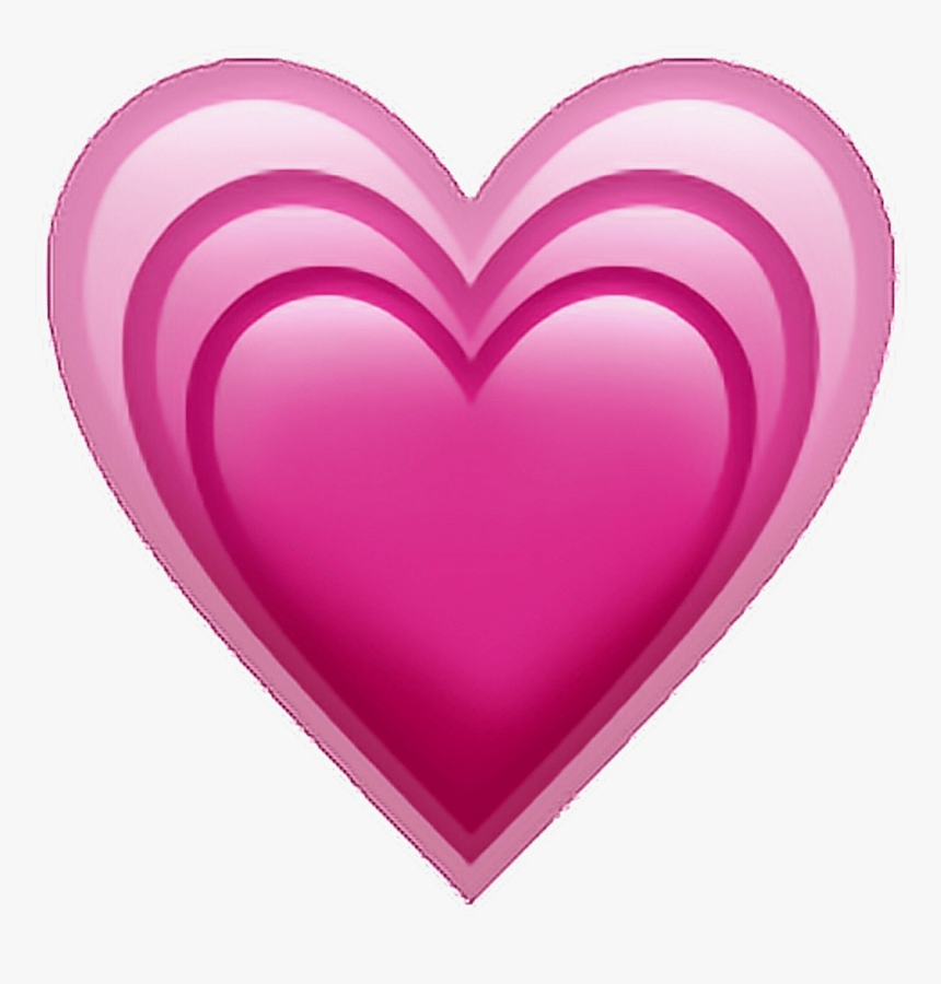 Iphone Heart Emoji Transparent, HD Png Download, Free Download
