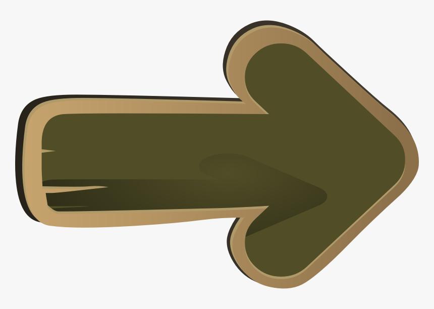Arrow Signs Clipart - Clip Art Wooden Arrow, HD Png Download, Free Download