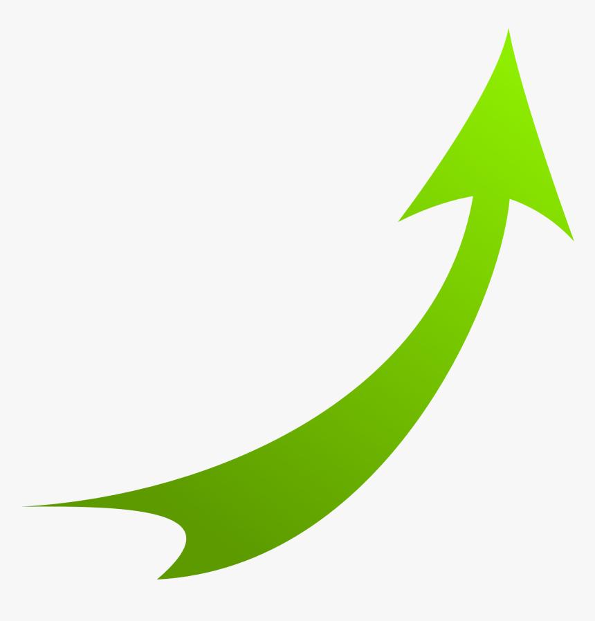 Transparent Curly Arrow Clipart - Green Arrow Transparent Png, Png Download, Free Download