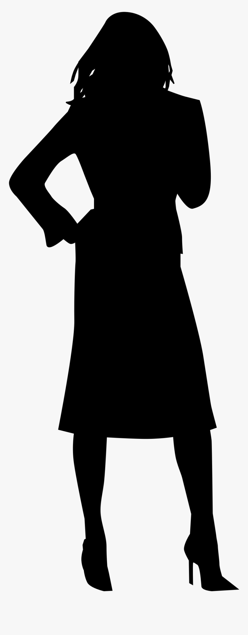 Woman Silhouette Png Images Pictures - Woman Silhouette Icon Png, Transparent Png, Free Download
