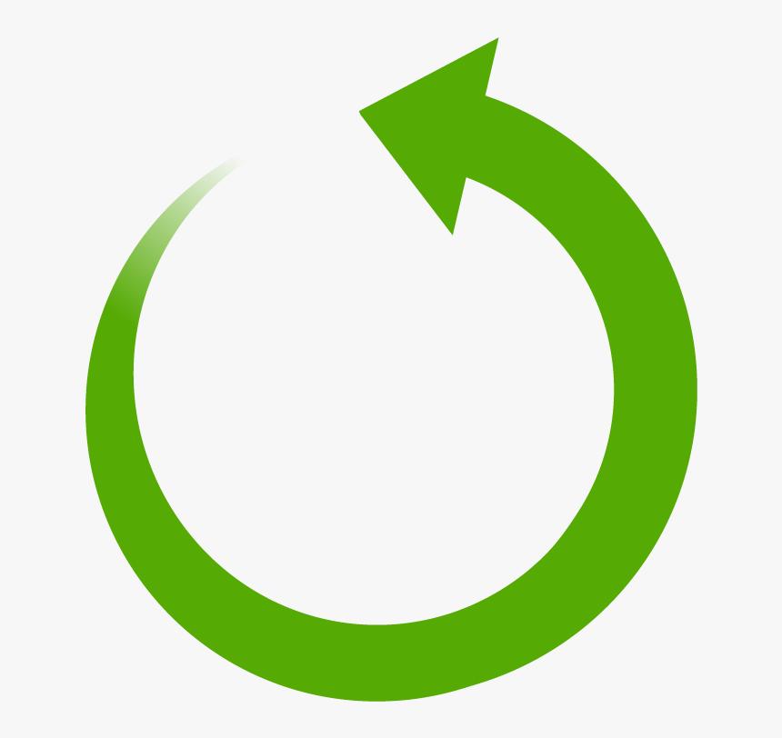 Green Circle Arrow Transparent, HD Png Download, Free Download
