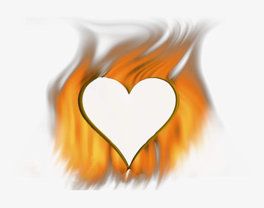 Heart Fire Png , Png Download - Heart Of Fire Transparent, Png Download, Free Download