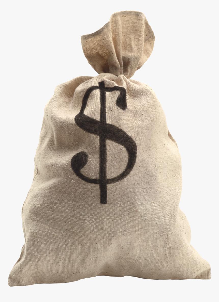Transparent Money Sack Png - Make A Money Bag, Png Download, Free Download