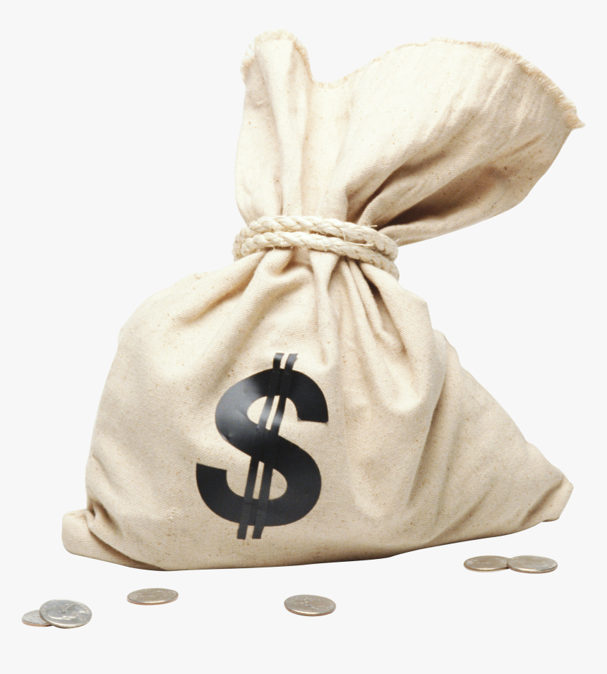 Bag,money Bag,beige,fashion Accessory,luggage And Bags - Bag Of Money Png, Transparent Png, Free Download