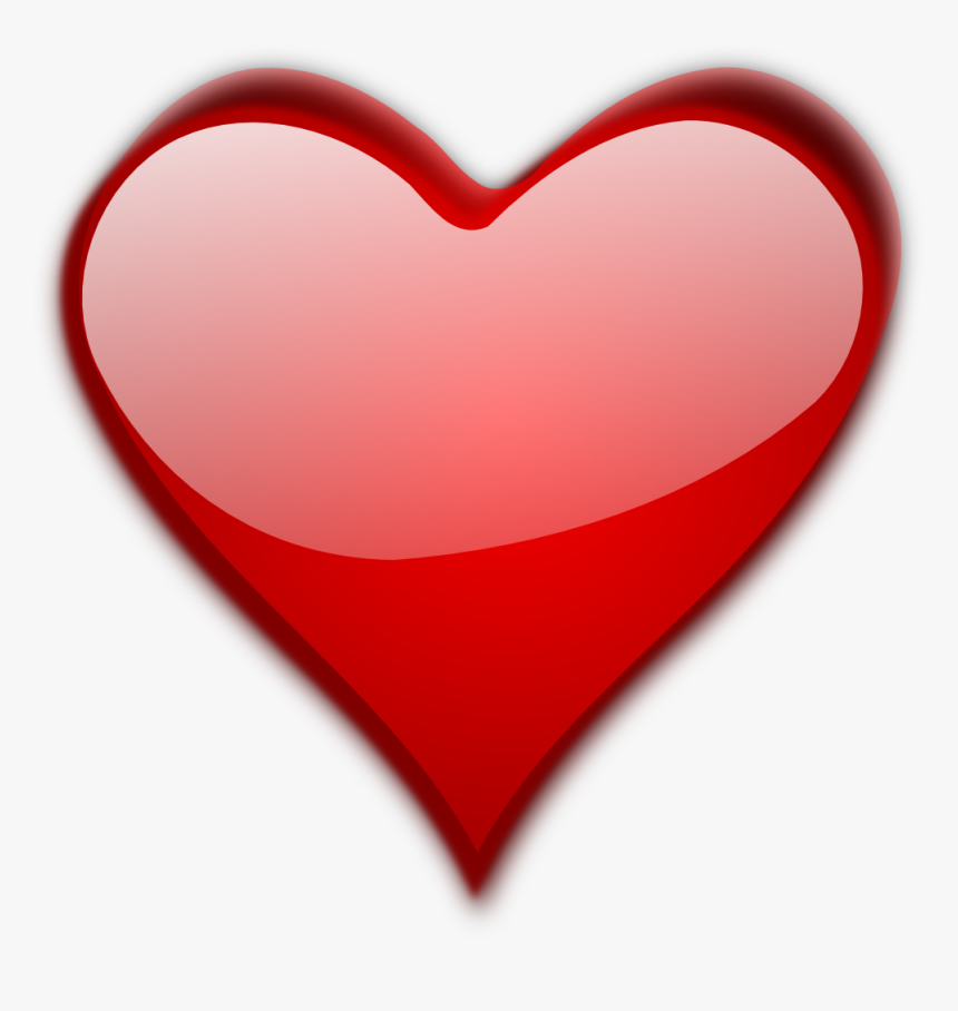 Transparent Small Red Heart Png - Big Heart Transparent Background, Png Download, Free Download