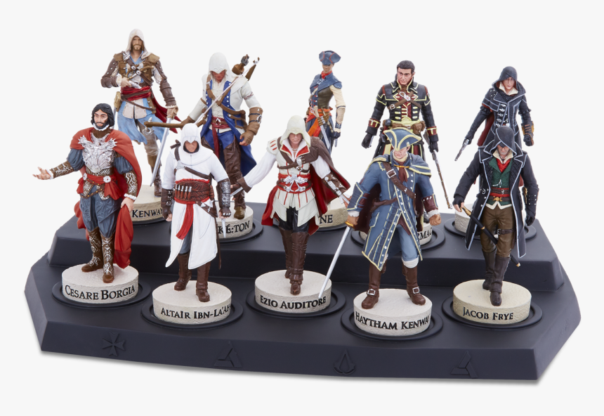 All Assassin S Creed Figures Hd Png Download Kindpng