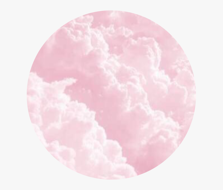 Sky Pink Pinkclouds Cloud Dream Pastel Pink Background Circle Hd Png Download Kindpng