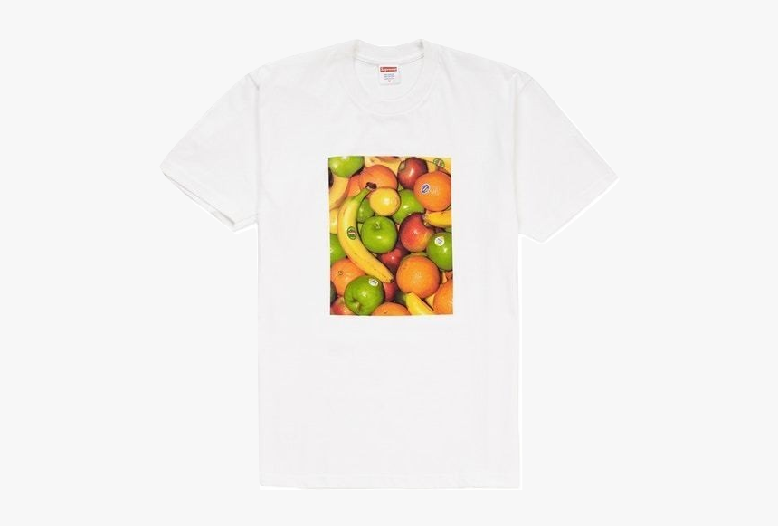 Supreme Fruit Tee Pale Yellow, HD Png Download, Free Download