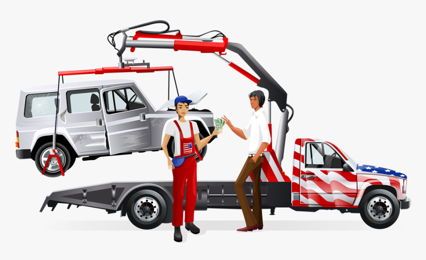 Car Removal Junk Cars Tow Truck, HD Png Download, Free Download