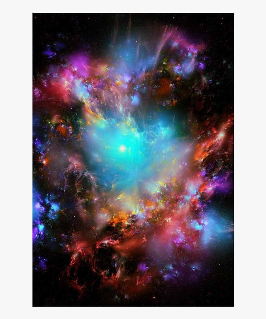 #galaxy #stars #effect #colors #background - If He Isn T Afraid Of Losing You, HD Png Download, Free Download