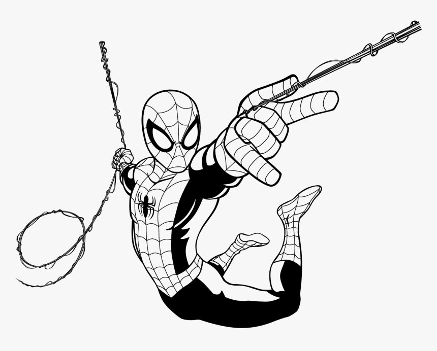 Captain Spiderman Spider-man Ultimate Iron America - Ultimate Spider Man Drawing, HD Png Download, Free Download