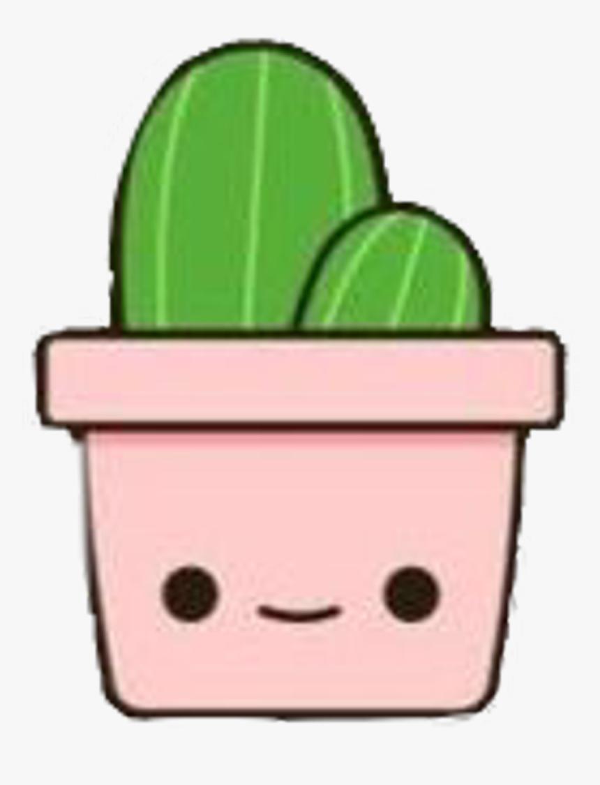 Cactus bin sticker