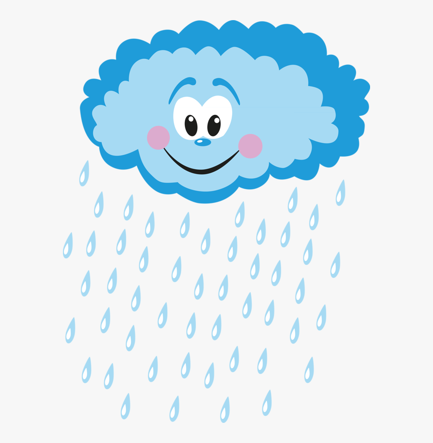 Rain Clipart Smile, HD Png Download, Free Download