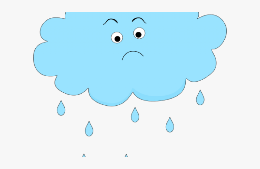 Transparent Rain Emoji Png - Cartoon, Png Download, Free Download
