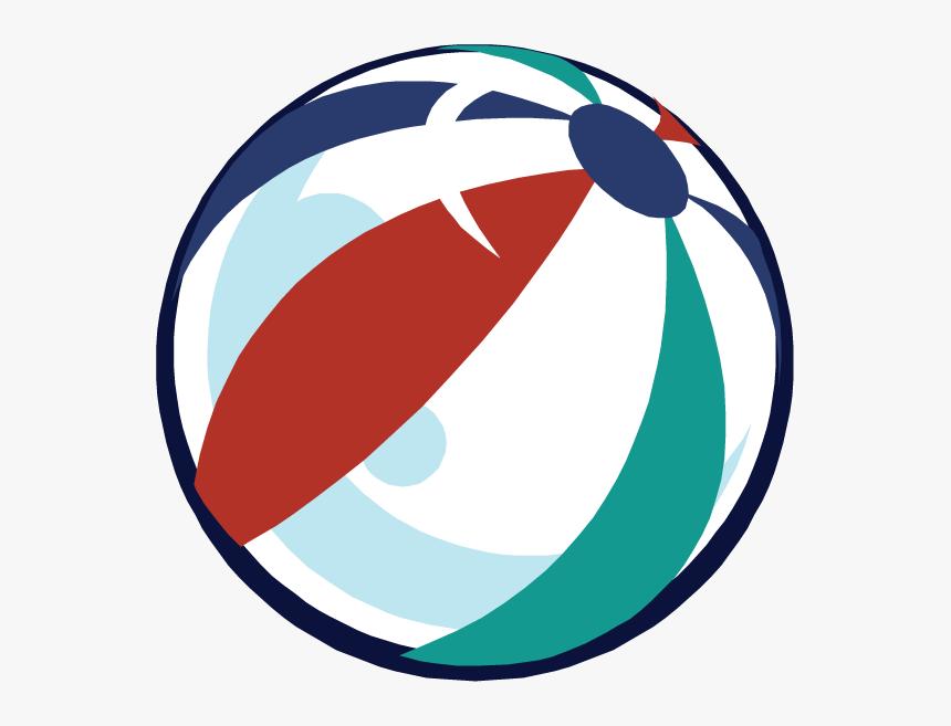 Transparent Beach Ball Clip Art - Beach Ball, HD Png Download, Free Download