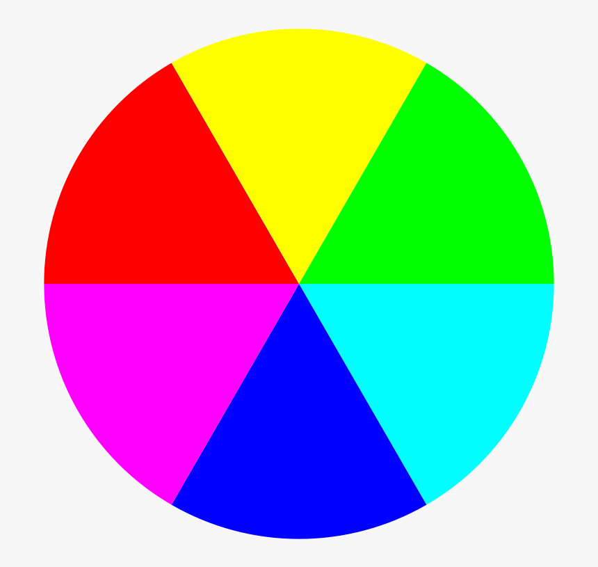 Free 6 Color Beach Ball - Beach Ball Colors, HD Png Download, Free Download