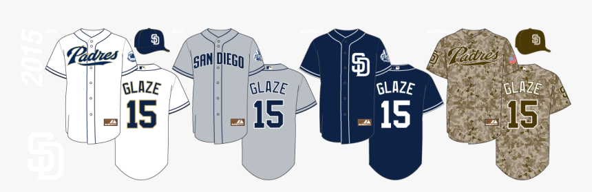 San Diego Padres Uniforms 2018, HD Png Download, Free Download