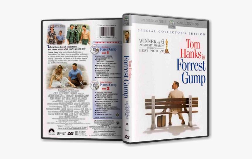 Forrest Gump 1994 Dvd Cover Hd Png Download Kindpng
