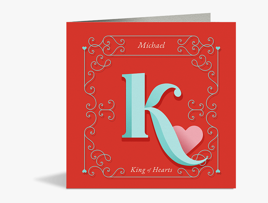 King Of Hearts Card - Greeting Card, HD Png Download, Free Download