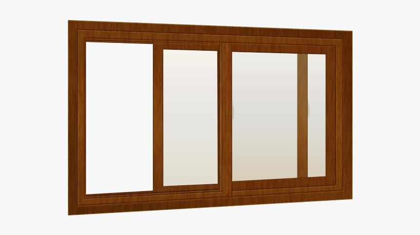 Sliding Wood Window - Window, HD Png Download, Free Download