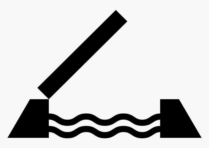 Transparent Bridge Icon Png - Drawbridge Icon, Png Download, Free Download