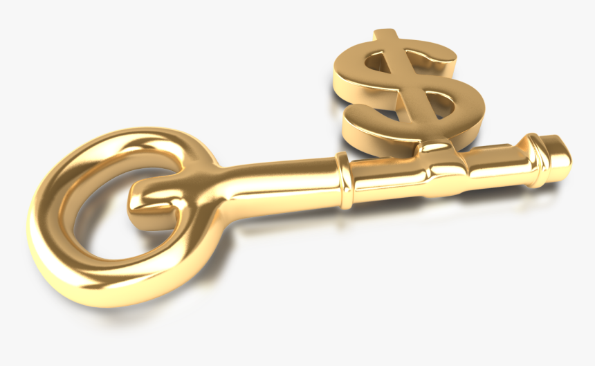 Money With Key - Key With Dollar Sign, HD Png Download, Free Download
