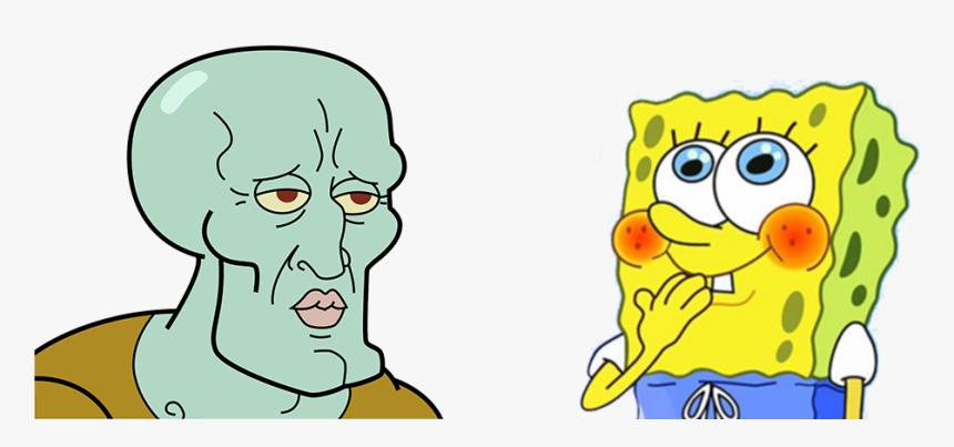 Bob Esponja Spongebob Meme Template Hd Png Download Kindpng