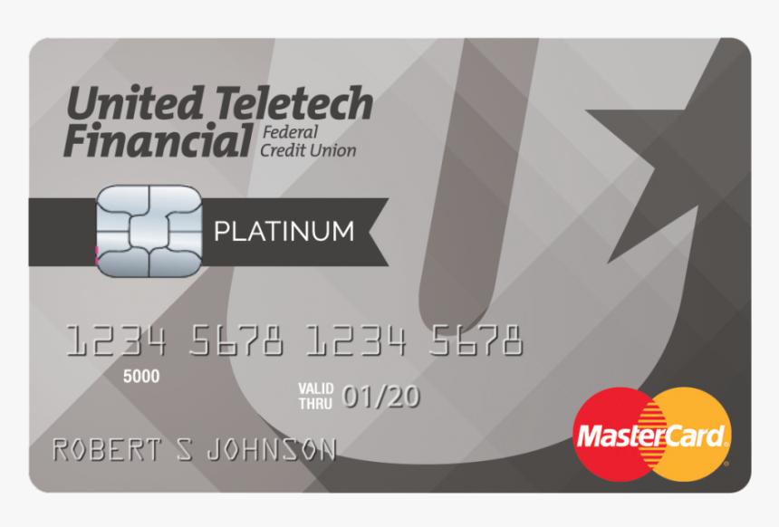 United Teletech Financial Platinum Credit Card - United Teletech, HD Png Download, Free Download