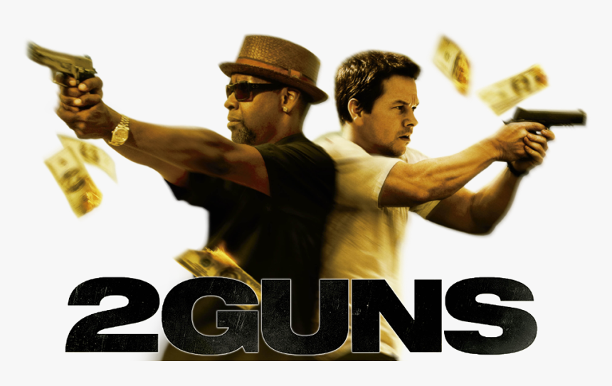 2 Pistolas Png - Mark Wahlberg 2 Guns, Transparent Png, Free Download