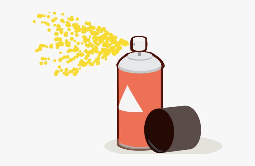Transparent Inhaler Clipart - Spray Paint Clipart Transparent, HD Png Download, Free Download