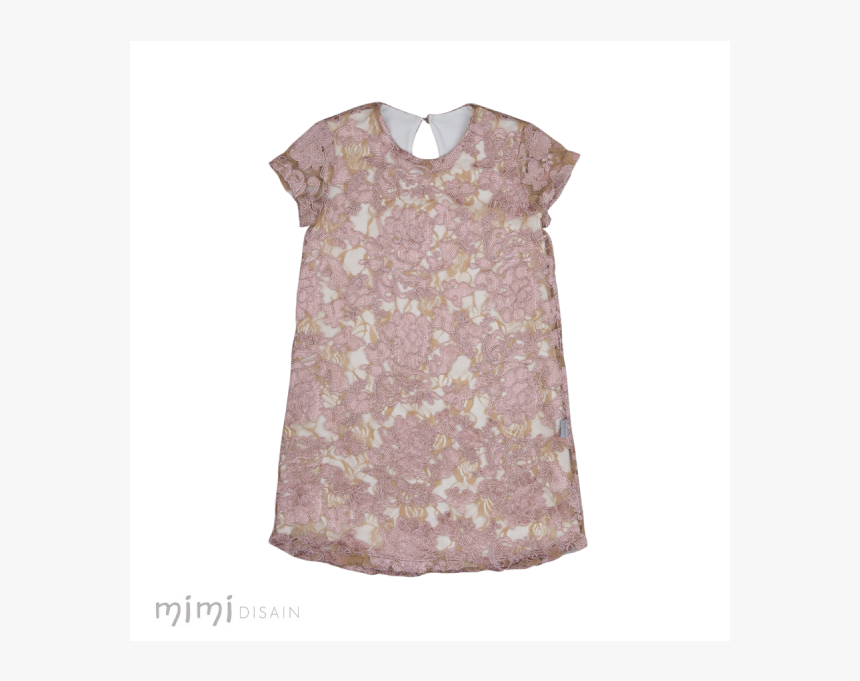 Mimi Dress Susy Pink Lace - Pattern, HD Png Download, Free Download