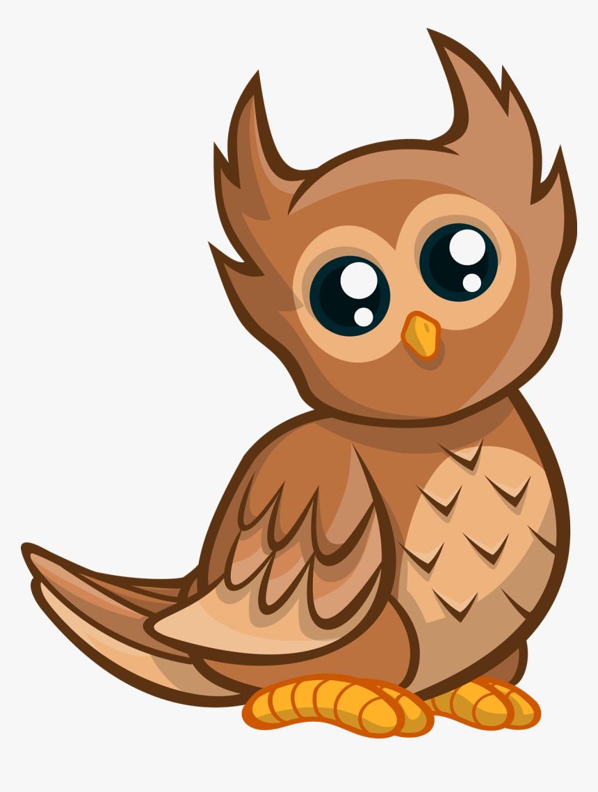 Owl Clip Art - Clip Art Cute Owl, HD Png Download, Free Download
