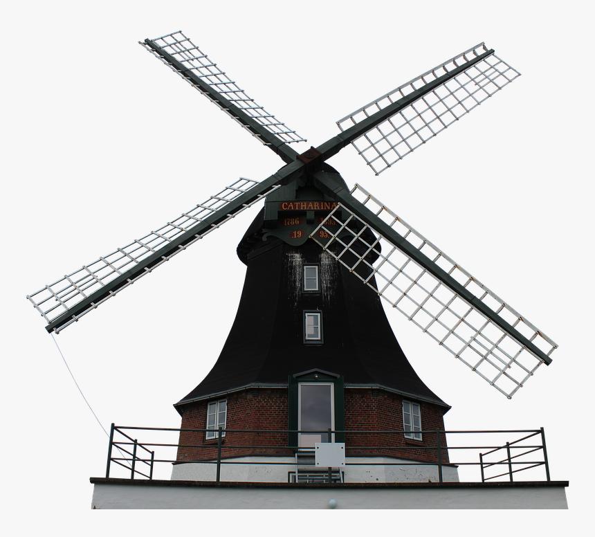 Mill, Windmill, Wing, Wood, Grind, Old, Dutch Windmill - Dutch Windmill Png, Transparent Png, Free Download
