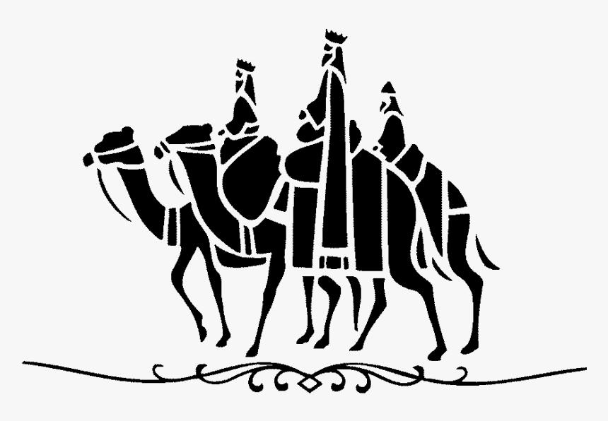 Poesia De Los Reyes Magos , Png Download - Siluetas De Los Reyes Magos, Transparent Png, Free Download