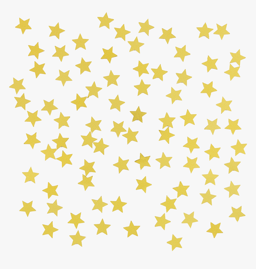 Star Gold Confetti Clip Art - Welsh Local Government Association, HD Png Download, Free Download
