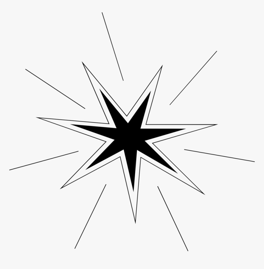 Free Stock Photo - Star With White Background, HD Png Download, Free Download