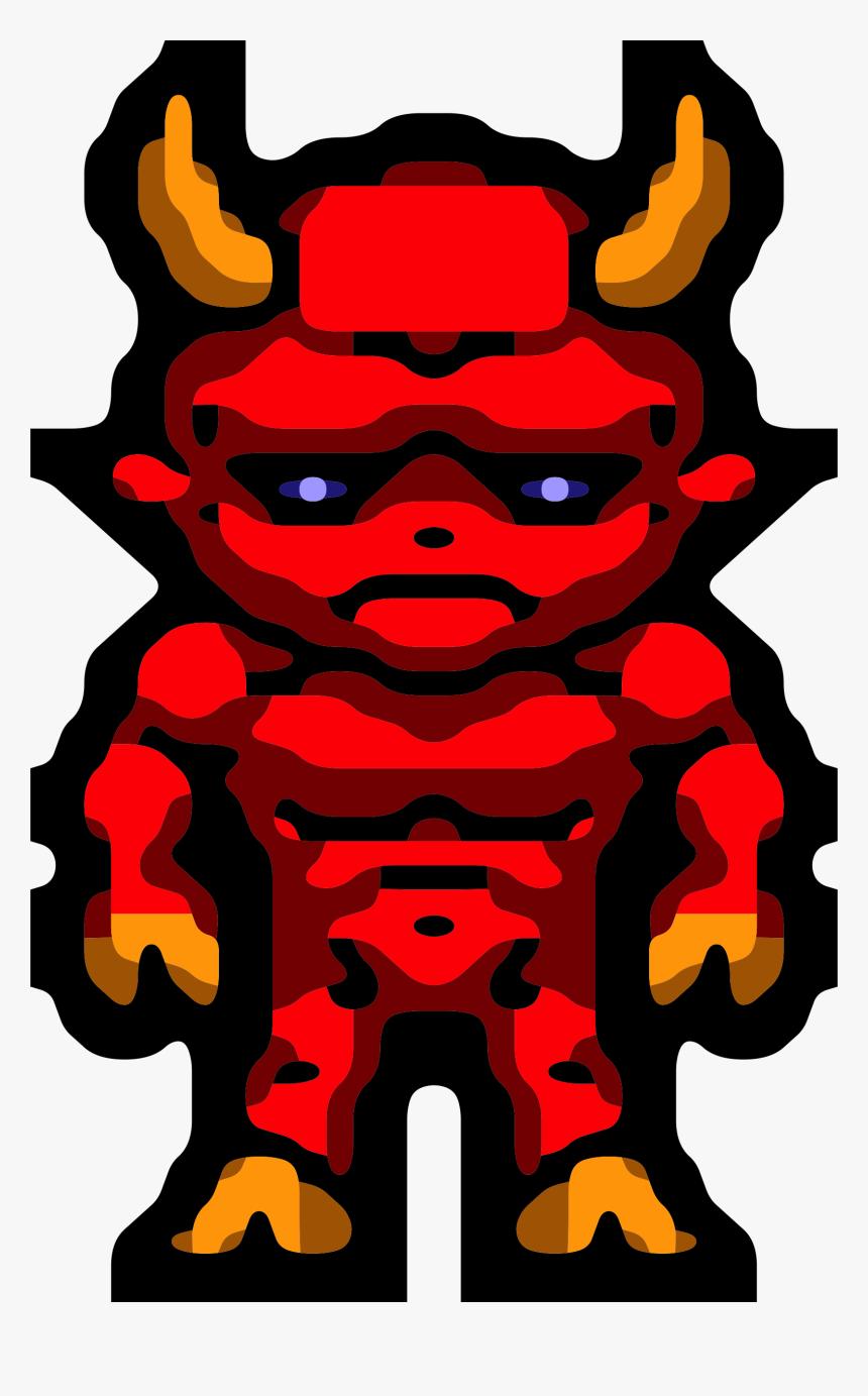 Demon Png - Demon Sprite 8 Bit, Transparent Png, Free Download